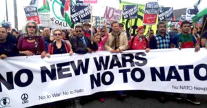Why should new generations advocate for the abolition of NATO?