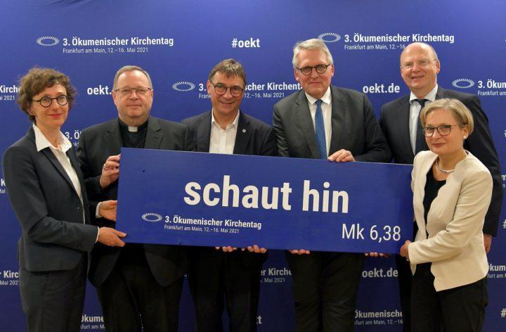 Befremden über Auftritt von NATO-Generalsekretär und Minister a.D. de Maizière beim Kirchentag