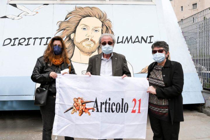 Un murales per Mario Paciolla all'Arenella, per non dimenticare