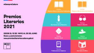 [Chile] Premios Literarios 2021 con novedades en Escrituras de la Memoria y Roberto Bolaño