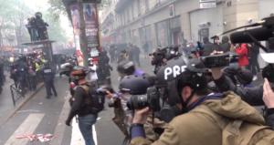 Paris'te 1 Mayıs; Bayram, Festival, Çatışma!