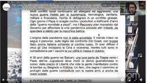 Bilancio e documenti dell'iniziativa – Trieste Laboratorio di Pace