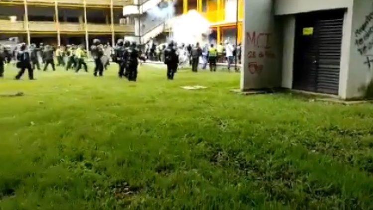 Colombia: a pocos días del paro Univalle fue intervenida por el Esmad