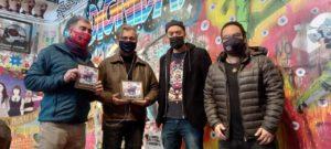 """Lanzamiento del libro """"Muros que hablan: Memoria gráfica del despertar social"""" en el Museo del Estallido Social chileno"""