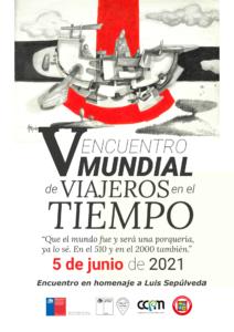 Con escritores y escritoras chilenos e internacionales se realizará el V Encuentro Mundial de Viajeros en el tiempo