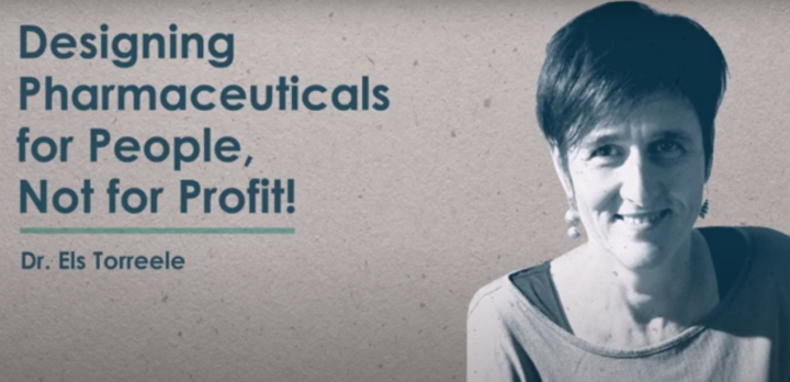 Designing pharmaceuticals for people – not for profit [video]