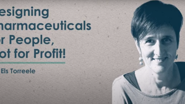 Designing pharmaceuticals for people - not for profit [video]