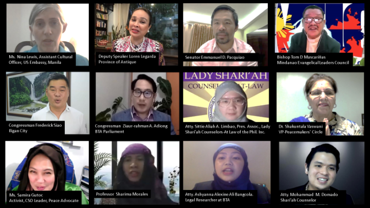 2021 Multifaith Virtual Iftar Conference in the Philippines