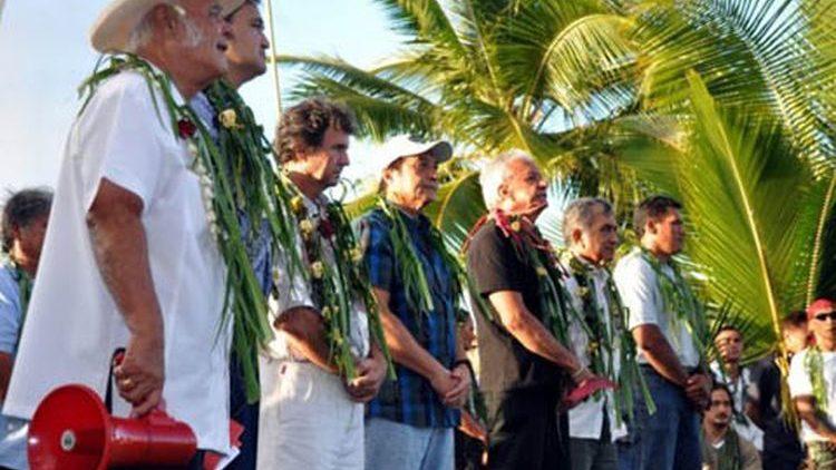 Commemorazione a Papeete in ricordo delle vittime