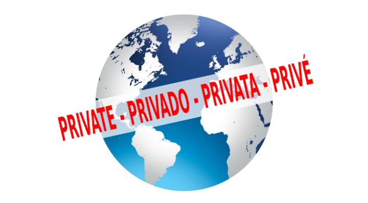 private - privado - privata - prive