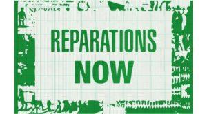 États-Unis : les réparations sont en train d'arriver
