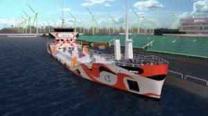 Η Ιαπωνία αναπτύσσει ηλεκτρικά πλοία, μηδενικών εκπομπών