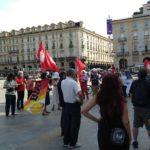 Presidio a Torino in ricordo di Belakhdim Adil e per combattere la violenza delle aziende della logistica