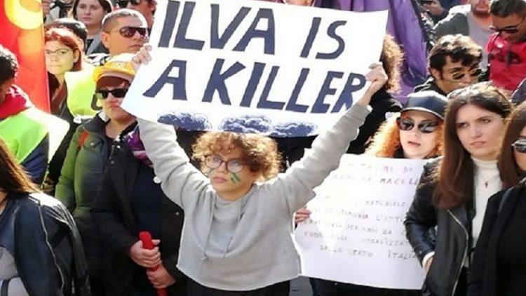manifestazione studenti a Taranto, fonte PeaceLink