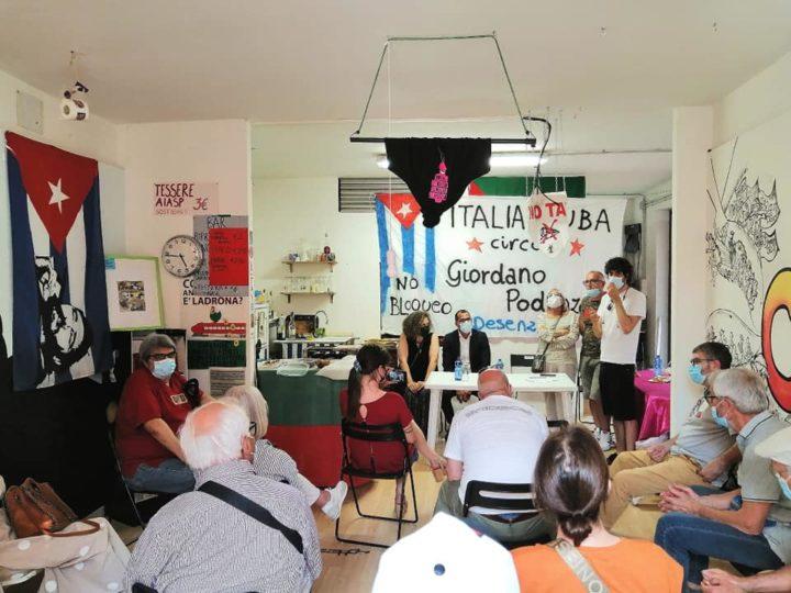 Desenzano, atti squadristi della destra cubana contro il Circolo Italia-Cuba