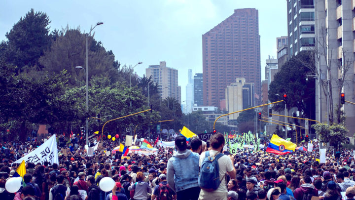 """Colombia burns: it's not about """"tax reform"""", it's about hunger and dignity"""