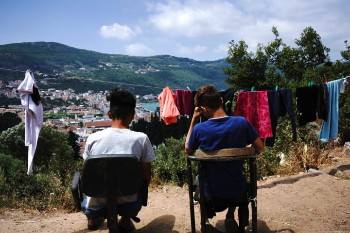 (Photo reportage) La «jungle» de Samos