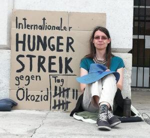 Hungerstreik am Heldenplatz