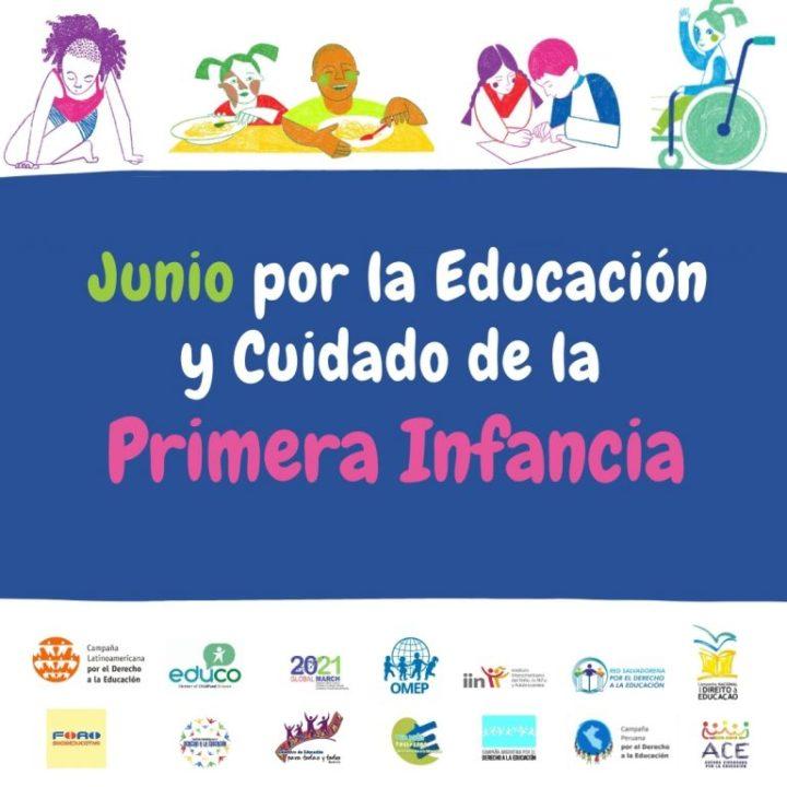 Organizaciones de América Latina y el Caribe promueven movilización por Cuidado y Educación en la Primera Infancia