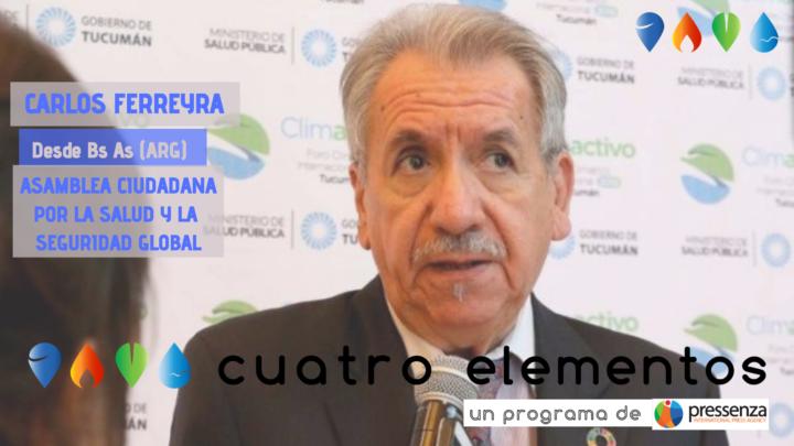 """Carlos Ferreyra """"La OMS tiene que cambiar su funcionamiento"""""""