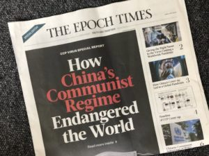 The Epoch Times, Trump's Favorite Cult Propaganda Machine Supporting the White House, and How U.S. Anti-COVID Efforts Have Been Derailed – Part 2/3