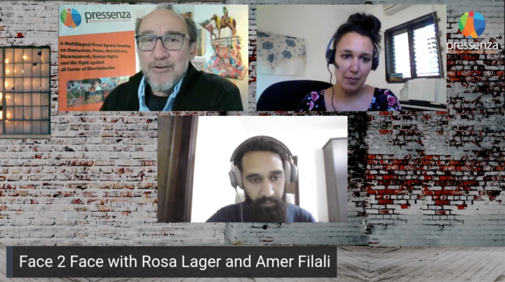 Special Face 2 Face with Rosa Lager and Amer Filali