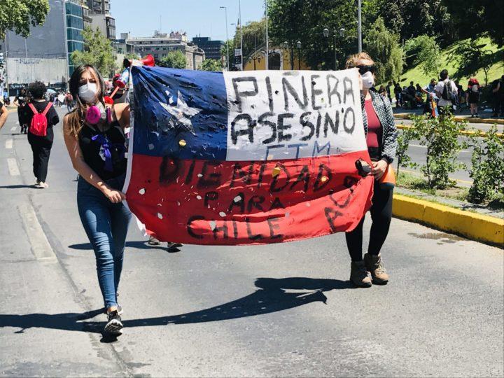 cile proteste piñera diritti umani
