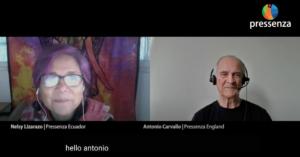 Antonio Carvallo's Interview for Pressenza