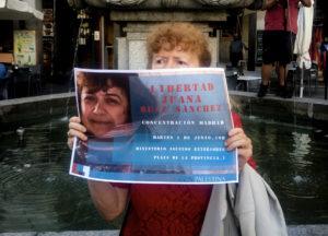 Libertad para Juana Ruiz Sánchez, ciudadana española detenida arbitrariamente por las autoridades israelíes