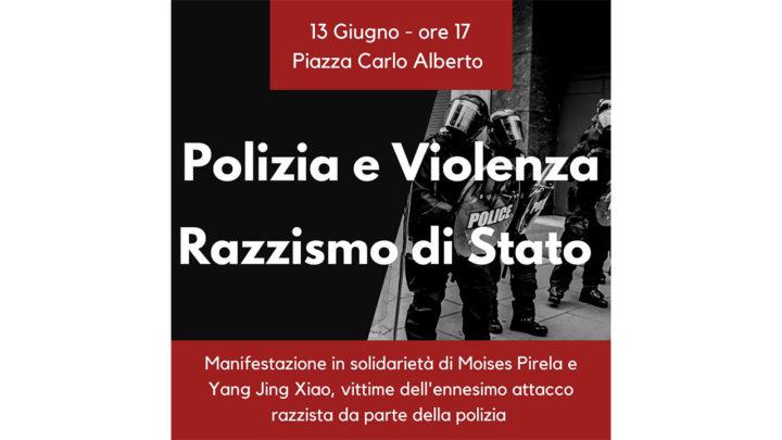 Manifestazione per Moises Pirela e Yang Jing Xiao: vicenda tutta da chiarire che coinvolge la Polizia