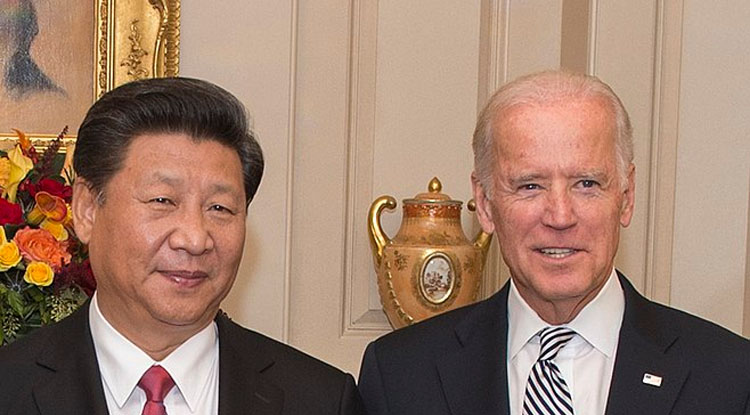 Bidens erste Etappe vor dem Treffen mit Xi Jinping