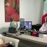 """Abdul Aziz Sarham, direttore Lega Musulmana Mondiale in italia.  """"lavoriamo insieme per una convivenza pacifica"""""""