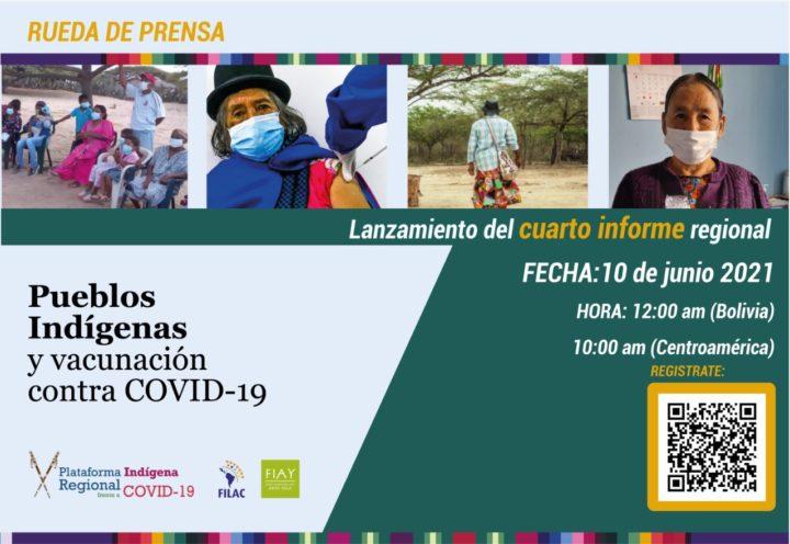 Vacunación contra COVID-19 en Pueblos Indígenas de la región. Hacia un Sistema de Inmunización Intercultural