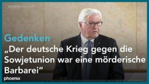 Offener Brief: Gedenkrede von Frank-Walter Steinmeier zum Jahrestag des deutschen Überfalls auf die Sowjetunion