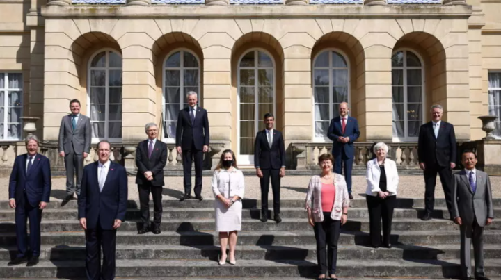 G7 acuerda histórico impuesto para las grandes empresas