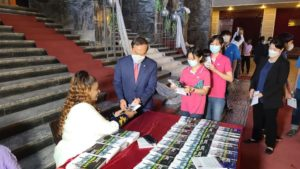 The book inspired by a Korean success story launched in Ethiopia