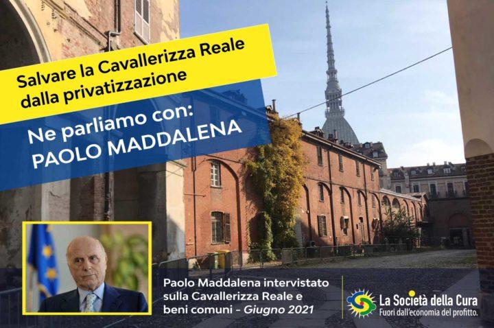 Il prof. Paolo Maddalena, Presidente emerito della Corte Costituzionale, su Cavallerizza e beni pubblici