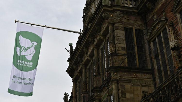 Mayors for Peace: Bremen zeigt Flagge gegen Atomwaffen