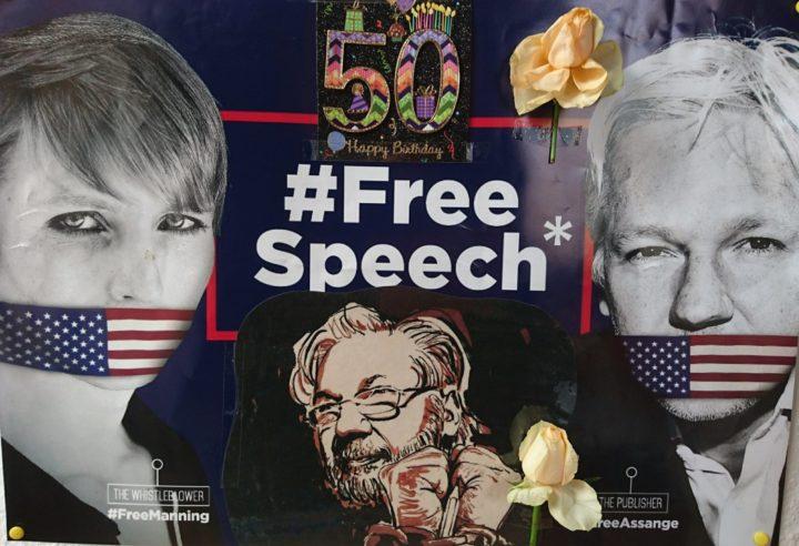 Sofortige Freilassung für Julian Assange zum 50. Geburtstag fordern wir aus Berlin nach London!