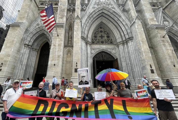 Pride, Prayer and Protest at St. Patrick's Cathedral, New York
