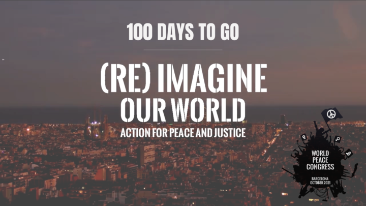 Barcelona will host the Second International Peace Congress from October 15-17, 2021