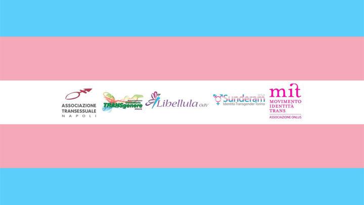 Associazioni Trans: ora e subito DDL Zan