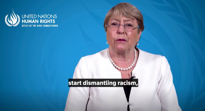 """""""Stop denying racism, start dismantling it"""" UN High Commissioner for Human Rights says"""