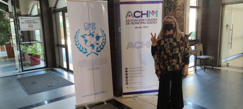 Die Weltfriedensorganisation ernennt die chilenische Schauspielerin Paulina Hunt zur Friedensbotschafterin