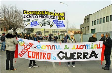 Manifestazione pacifista Ghedi