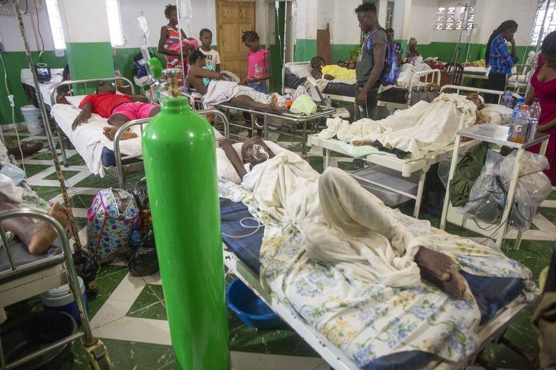 Haiti ospedale da campo