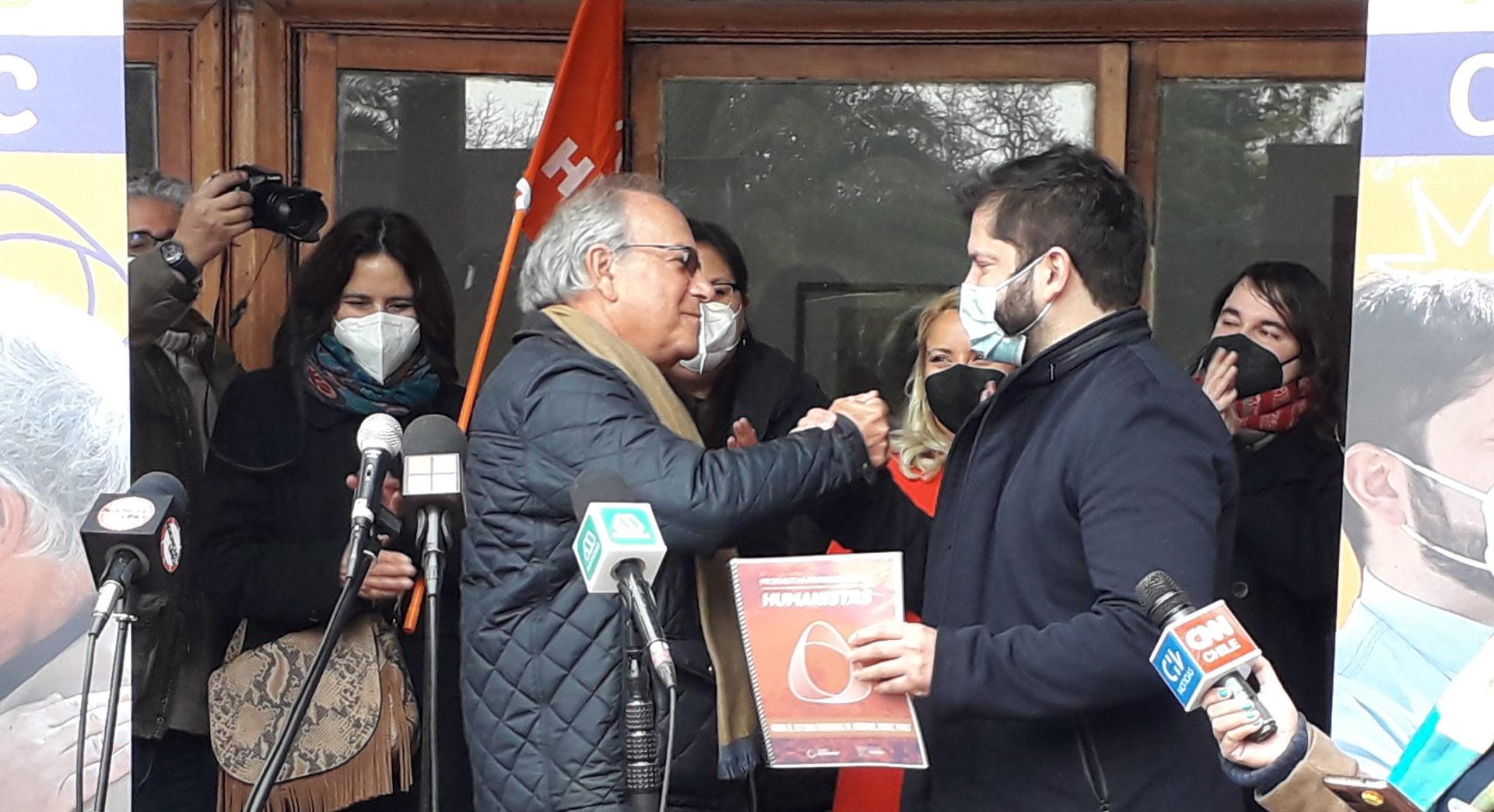 Chile: Humanistische Aktion ernennt Gabriel Boric zu ihrem Präsidentschaftskandidaten für die Wahlen im November