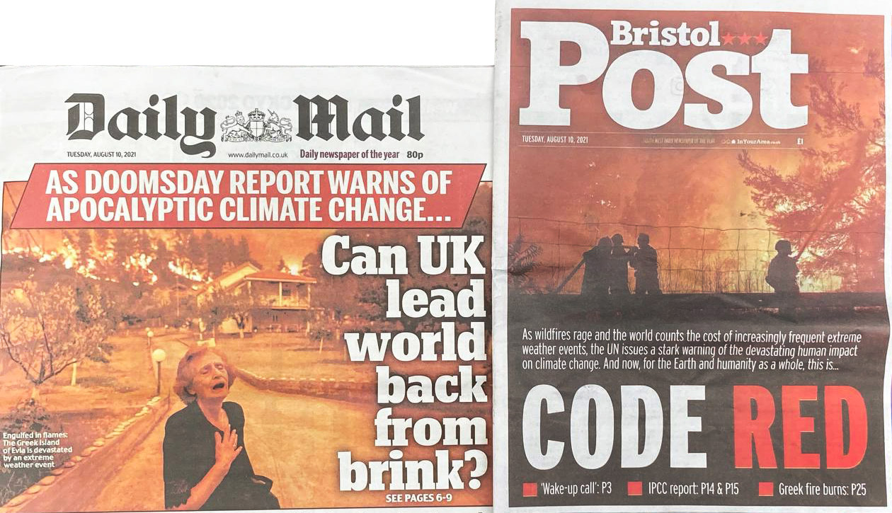 """""""Code Red"""": Wake up and initiate real climate protection!"""