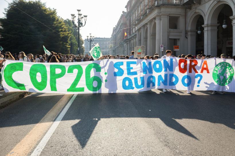In migliaia a Torino per lo sciopero globale sul clima