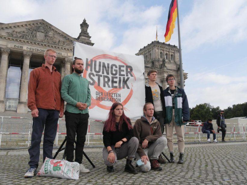 Hungerstreik für das Klima - Offener Brief an die Kanzlerkandidat:innen
